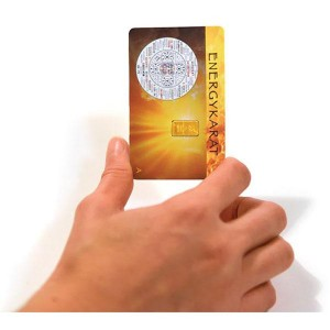 EnergyKarat - kartica proti stresu in strahu