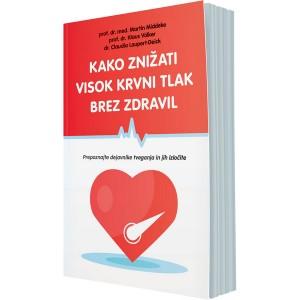 Kako znižati visok krvni tlak brez zdravil (e-knjiga)