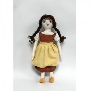 Meta – terapevtska punčka v ljudskem oblačilcu (37 cm)