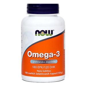 NOW Omega–3 (1000 mg)