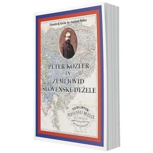 Peter Kozler in Zemljovid slovenskih dežel
