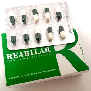 Reabilar – zmes polifenolov sibirskega macesna (30 kapsul po 100 mg)