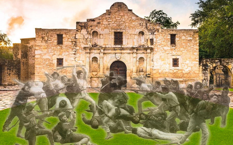 Harry Franzreb: Alamo z duhovi